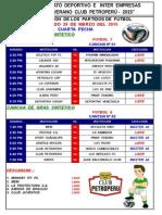 Campeonatos Futbol Cpp - Programación 4º Fecha ( 2015 - i ) (1)