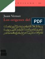 Vernet.juan 2001 Los Origenes Del Islam