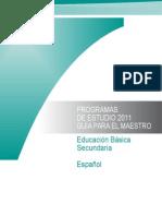 Programa de Estudios 2011