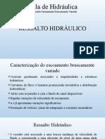 Aula de Hidráulica 7 - Ressalto Hidráulico.pptx