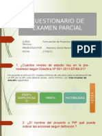 FORMULACIÓN DE EXPEDIENTES