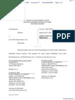 Stainbrook v. Lions Gate Entertainment et al - Document No. 17