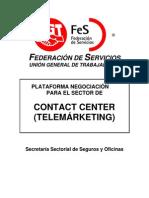 ma Negociacion FeS UGT v CC Contact Center