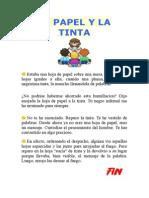 EL PAPEL Y LA TINTA