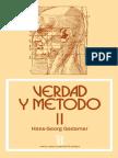 Gadamer, Hans-georg - Verdad y Método II [Por Ganz1912]