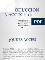 Introduccion a Acces