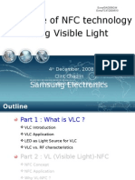 Visible Light Communication presentation slide