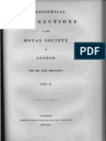 FARADAY 1835 PAPER Experimental Researches in Electricity 10thSeries