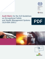 Guide d'audit ILO-OSH