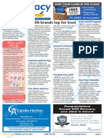 Pharmacy Daily for Tue 21 Jul 2015 - Health brands top for trust, FDA tracks AEs on Google, 6CPA a Greek tragedy?, Guild Update and much more