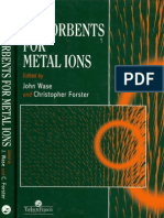 Biosorption of Lanthanides Actinides and Related Materials