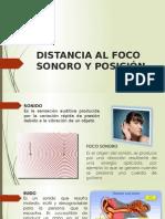 Distancia Al Foco Sonoro y Posición