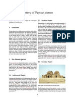 History of Persian Domes