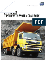 FM400_8X4 Tipper_29cum Coal Body_Raw Coal Transportation