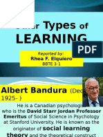 Other Types of Learning