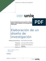 Elaboración de un diseño de investigación