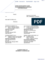 Roehm v. Wal-Mart Stores, Incorporated - Document No. 21