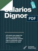 Investigación SALARIOS dignos