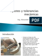 Ajustes y Tolerancias Mecanicas