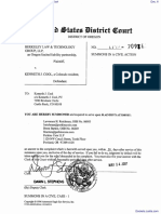 Berkeley Law & Technology Group, LLP v. Cool - Document No. 6