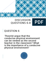 Discussion Questions 6-8