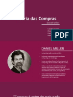 Teoria Das Compras por Daniel Miller