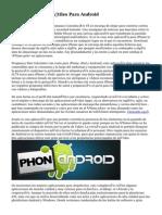 diez Aplicaciones Útiles Para Android