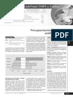 Presupuestacion de Capital y Analisis de Costos, NIC 2, NIC 21