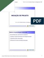 05 - Iniciação de Projeto