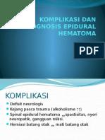 Komplikasi Dan Prognosis Epidural Hematoma