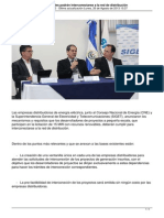 Pequenos Proyectos Renovables Podran Interconectarse a La Red de Distribucion