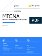 introduccion CURSO MTCNA