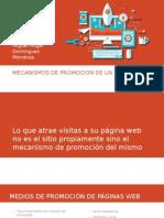 Mecanismos de Promocion de Un Sitio Web 27-05-2015