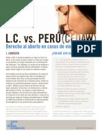 Caso internacional Lc Vs Peru