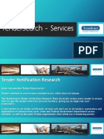 TenderSearch - Services
