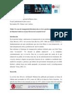 Un Caso de Transposición Literatura-cine en Clave Gauchesca. Del Juan Moreira de Eduardo Gutiérrez Al Juan Moreira de Leonardo Favio