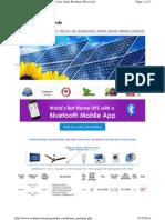 SOLAR Www.solarpowerenergyindia.com Home Package