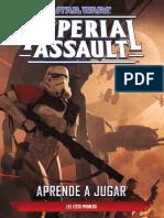 Star Wars Imperial Assault - Aprende a Jugar
