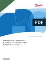 Danfoss Motor Za FriziderR134a 12-24V DC 11-01 Cn46c702