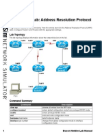 Stand-Alone Lab Address Resolution Protocol