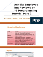 SynapseIndia Employee Sharing Reviews on Android Programming Tutorial Part 2