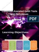 CIS _Group IV Report_Computer Assisted Audit Tools and Techniques