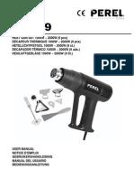 Heat Gun PEREL 3700-9