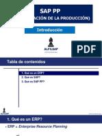 Alfilsap SAP PP Introducción