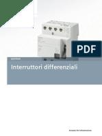 Interruttori Differenziali - Guida Tecnica - Ed. 2012