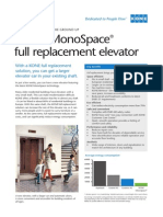 Monospace Full Replacement Factsheet Residential