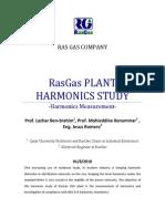 RasGas Plant Harmonics Study-Final Report