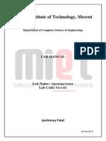 Ncs-451 Lab Manual