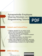 SynapseIndia Employee Sharing Reviews on Android Programming Tutorial Part 3