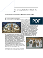 How the Form of the Iconographic Tradition Relates to the Catholic Worldview